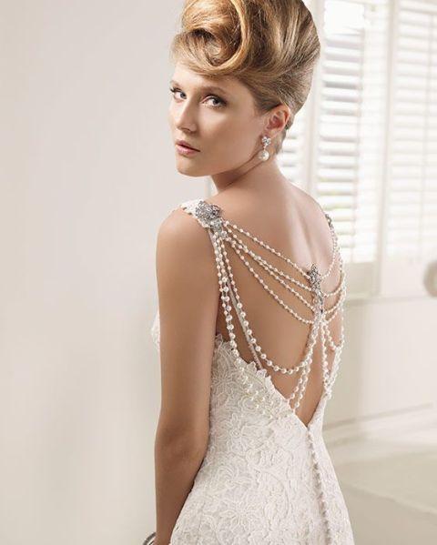 15 vestidos de boda elegante de la vendimia para la novia moderna