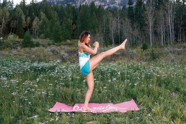 6 movimientos de Pilates que a su vez su cuerpo entero