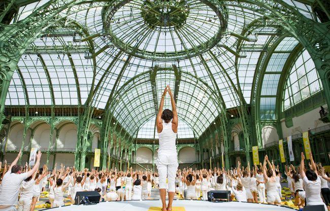 7 de yoga Inspiring mega-eventos en todo el mundo