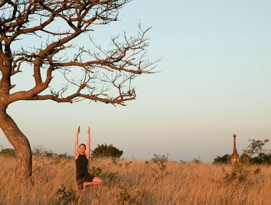 8 puntos de yoga exóticos que harán volar tu mente