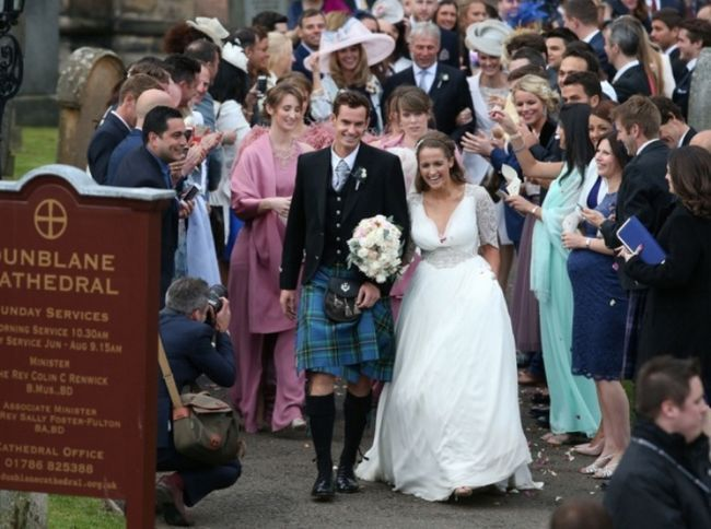Andy Murray y el matrimonio Kim Sears llamados