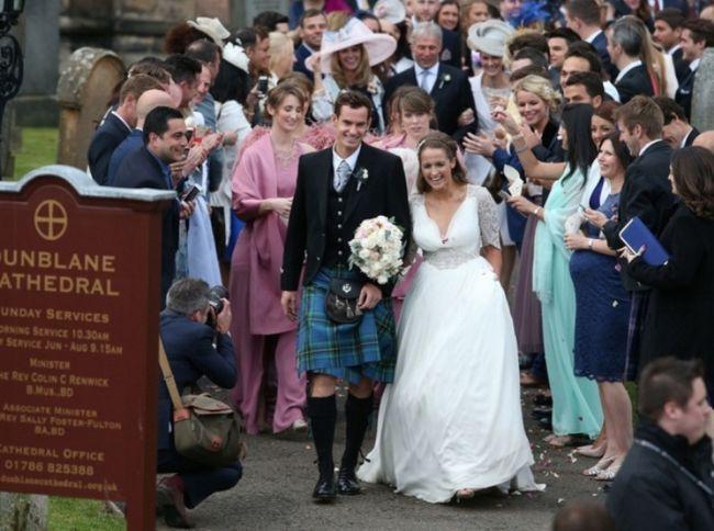 Andy Murray y el matrimonio Kim Sears llamados
