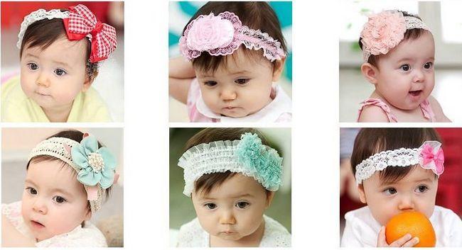 accesorios hermosos del bebé