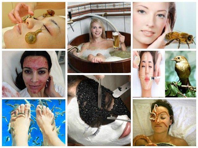 tratamientos de belleza extrañas
