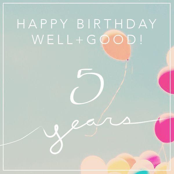 Celebre con nosotros y + buena cumple cinco años!