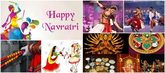 Choli Chaniya - la celebración de hoja perenne para Navaratri