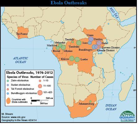 Ebola virus de la enfermedad de fotos