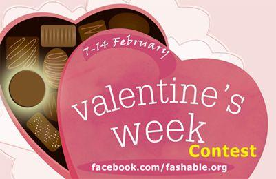 La semana del concurso Fashable valentín