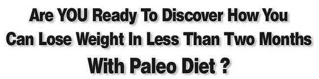 Pérdida de peso saludable con la notificación de la dieta paleo - es fiable?