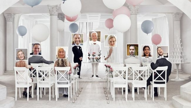 Ikea hace del matrimonio virtual de una cosa real!