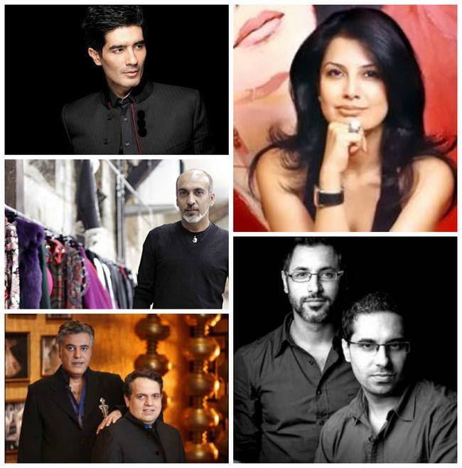 los más altos diseñadores de moda en la India