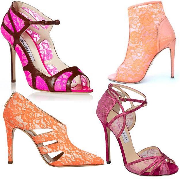 colección de Jimmy Choo zapatos de colores