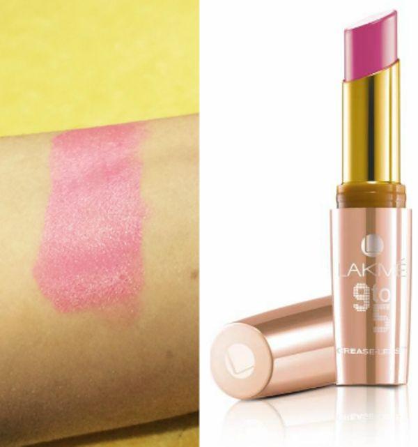 Lakmé 9-5 labios sin Pliegues 2 de revisión de PC y carga de muestras pink
