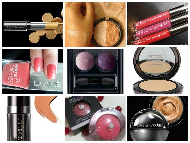 Lakme cuidado absoluto y línea de maquillaje
