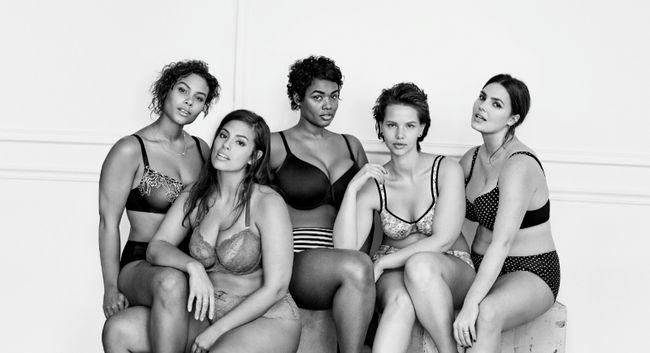 #imnoangel La campaña de publicidad de la ropa interior de Lane Bryant toma una excavación en el rival Victoria Secret