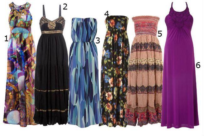 vestido maxi - una moda fresca del verano