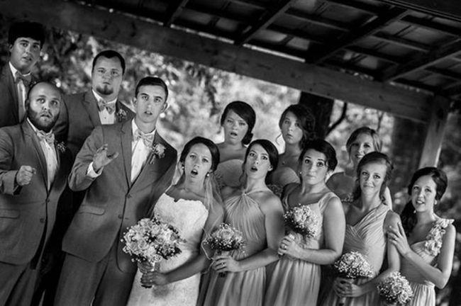 Mississippi fotógrafo captó foto de la boda épica mientras caía encima!