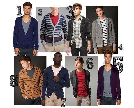 Una nueva era para los hombres chaquetas de punto