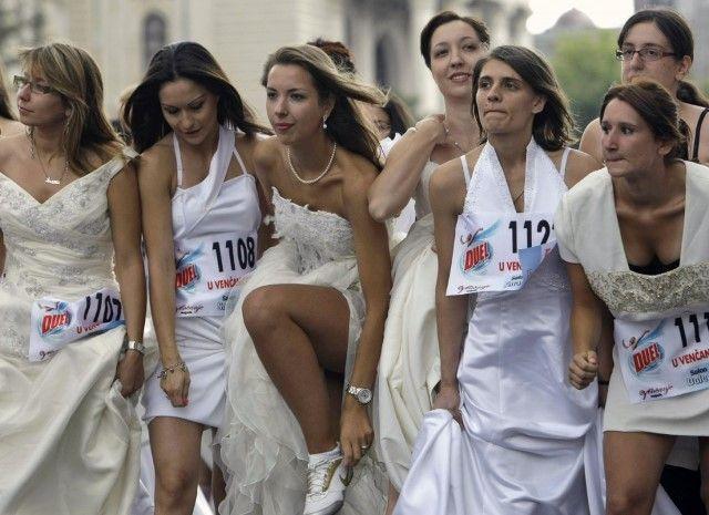 novia fugitiva, la raza de la novia
