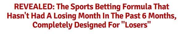 La revisión del sistema de apuestas deportivas - puede tommy sistema de Krieg de trabajo?