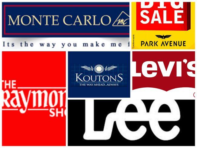 Más altas marcas de ropa en la India