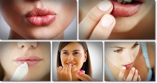 Tratar los labios agrietados de forma natural