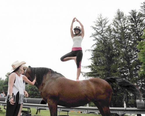 informe de tendencias: el caballo al yoga