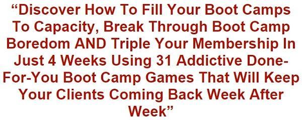 La turbulencia de Formación Review juegos de Boot Camp - programa del juego Brian