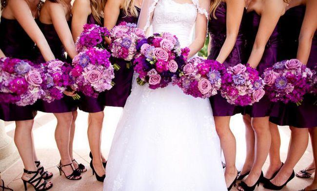 Cuáles son sus colores de la boda dicen de ti