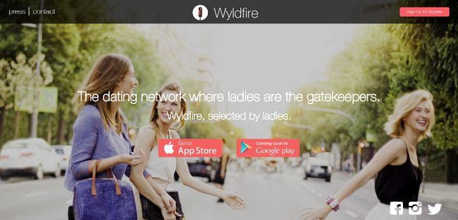 aplicación de citas Wyldfire hace que las mujeres los guardianes partir de arrastrar su experiencia de citas