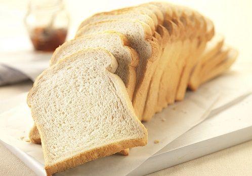 ¿Conoce blanco calorías por rebanada de pan?