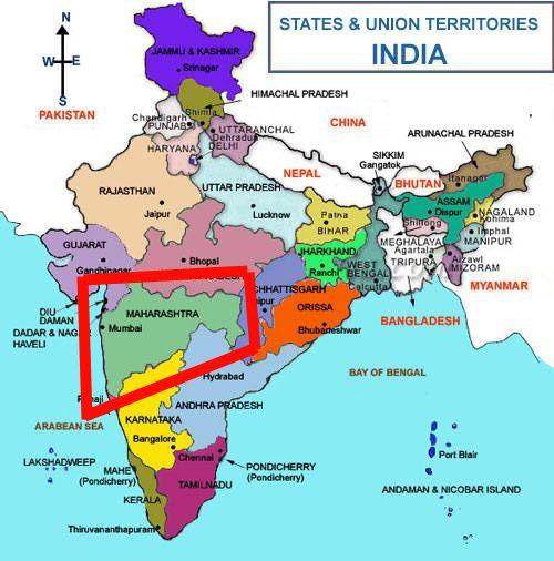 Lugares turísticos en Maharashtra