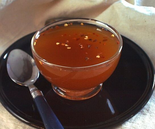 Vinagre salsa de barbacoa