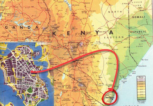 El tiempo en Mombasa en julio