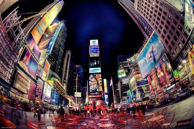 ¿Por qué se llama Times Square Times Square?