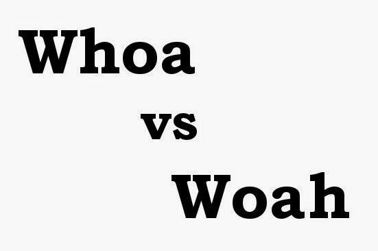 Woah o espera, ¿cuál es su elección?