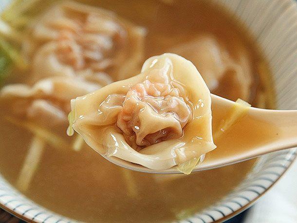 En calorías sopa wonton